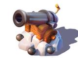 Cannon Statue