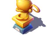 Golden Lamp Trophy