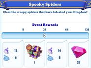Me-spooky spiders-7-milestones