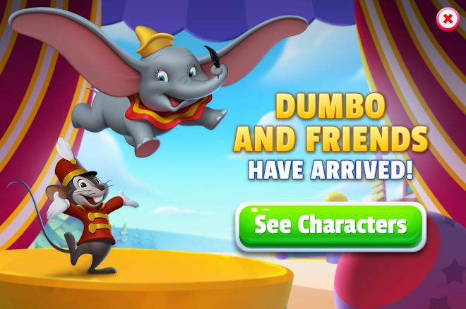 Dumbo Storyline (Act 5)