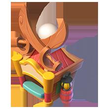 Wooden Sword Stand
