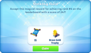 Me-striking gold-88-prize