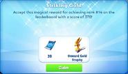 Me-striking gold-76-prize