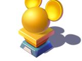 Disney Magic Kingdoms Gold Trophy