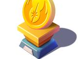 Star Wars Gold Trophy