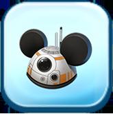 BB-8 Ears Hat Token