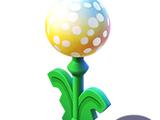 Dandelion Lamp Post