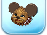 Chewbacca Ears Hat Token