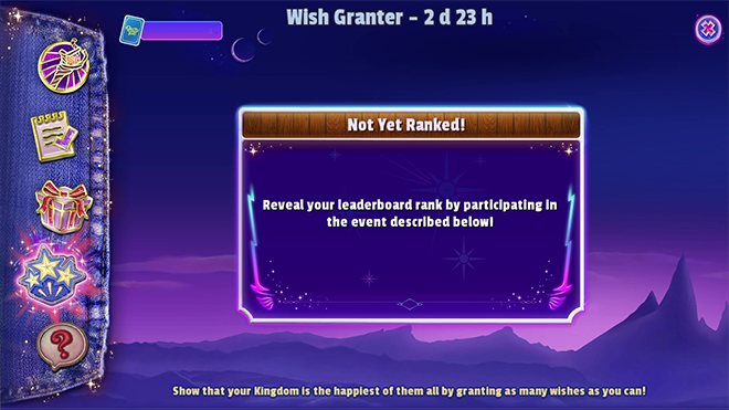 Wish Granter Mini Event