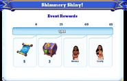 Me-shimmery shiny-3-milestones