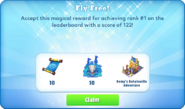 Me-fly free-3-prize