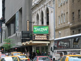 Richard Rodgers Theatre on Broadway