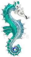 DisneyShopping.com - The Little Mermaid - A Broadway Musical Seahorse Brooch