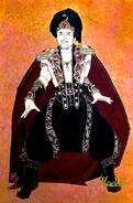 Aladdin Broadway Costume Concept Art Palace Guard