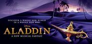 Aladdin Musical Banner
