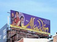 Aladdin Broadway Billboard