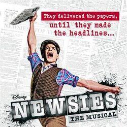 Newsies (musical) poster.jpg