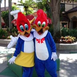 Theme Park Characters