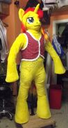 Sun pony shimmers well fursuit costume by atalonthedeer d9cyptd-fullview