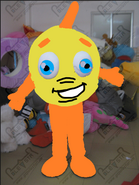 Freddi Fish Mascot