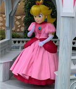 Princess Peach Mascot