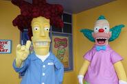 Universal-studios-orlando-sideshow-bob-and-krusty-the-clown-meet-and-greet-4