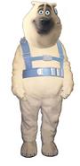 Corporal The Polar Bear Mascot