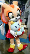 Cream the rabbit costume by courtney the fox