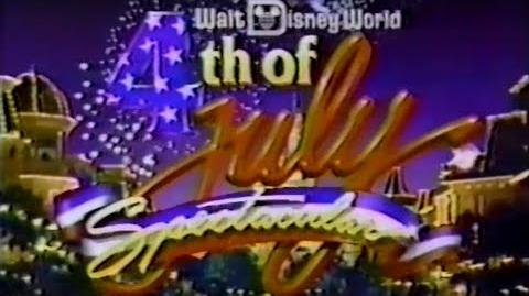 Walt Disney World 1988 4th of July Parade