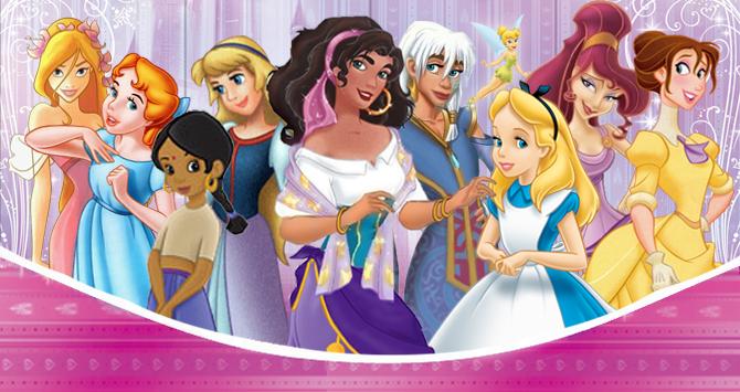 Princesas Ajudantes