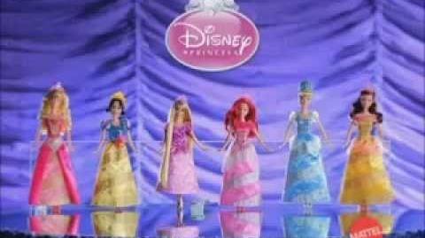 Princesas Brilhantes da Disney - Mattel