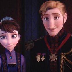 Rei Agnarr e Rainha Iduna