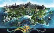 Auradon Map
