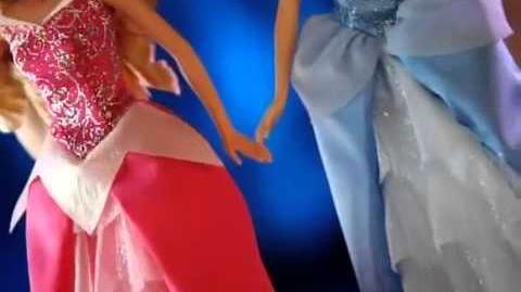 Bonecas Princesas Brilhantes da Disney