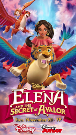 Elena and the Secret of Avalor poster.png