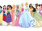 Lista de ex-membros e personagens secundárias da franquia Disney Princesa