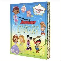 Disney Junior Little Golden Book Library