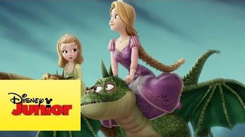 Sou uma princesa Tem que ousar e se arriscar - Princesinha Sofia e Rapunzel