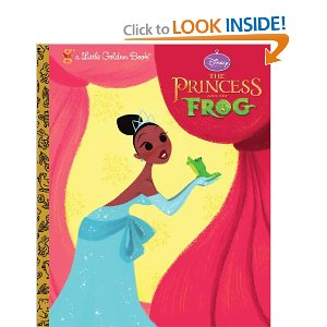 The Princess and the Frog (Little Golden Book)