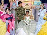 Coroações da franquia Disney Princesa