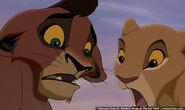 As cubs, Kiara and Kovu
