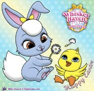 WH-Happy-Easter-Princess-Palace-Pet-Coloring-Page-SKGaleana-image