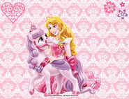Princess aurora and bloom by mileymouse101-d6mhodv
