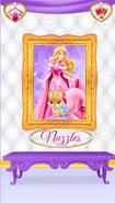 Nuzzles' Portrait With Aurora