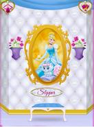 Slipper's Portrait With Cinderella 2
