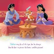 Sultan With Aladdin