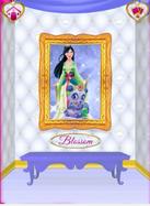 Blossom's Portrait with Mulan