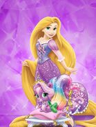 Rapunzel and meadow 3 by unicornsmile-d9ik637