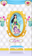 Lychee's Portrait With Mulan