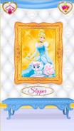 Slipper's Portrait With Cinderella